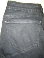 Not Your Daughters Jeans NYDJ Stretch Womens Black Jeans Size 14 P x 29  P402321