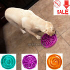 Pet Puppy Dog Cat Slow Feed Bowl Small Anti Slip Bloat Water Eat Bowl Feed Dish