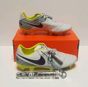 Women's Nike Tiempo Legend 6 VI SG-PRO ACC Women's 7.5 Soccer Grey/Purple 827248