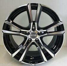4 Stück DBV Andorra Alufelgen 6,5J*16 ET40 Schwarz Mitsubishi Outlander 3636539