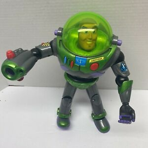 "Buzz Lightyear Nighttime Disney Pixar Toy Story 12"" Figure Hasbro Rare 2001"