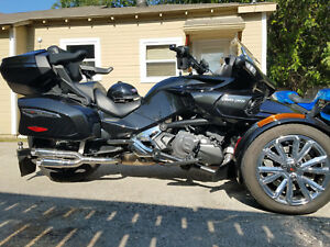 2014-2020 Can- Am Spyder RT RLS exhaust Twin Kaos series polished