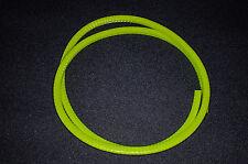 U-Profil Kantenschutz Kederband mit Stahleinlage, Klemmbereich 1-2mm - grüngelb