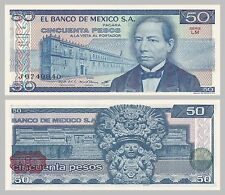 México/México 50 pesos 1981 p73 serie LM unz.