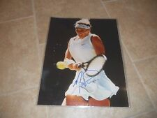 Mary Pierce Sexy Signed Autographed 16x20 Tennis Photo PSA Guaranteed