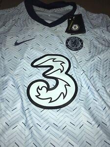 Chelsea Away Brand New Jersey 2020 2021 Nike Vaporknit Men Blues