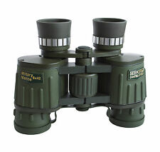 Seeker 8x42 Military Marine Binoculars with extra large eyepieces. Superb image