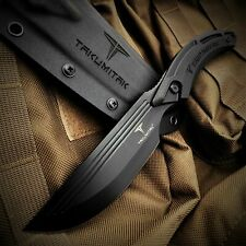 """9.5"""" Hunting Knife Full Tang D2 Blade G10 Molle Kydex Sheath Fixed Blade Knife"""