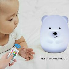 Light Night Touch Sensor Rechargeable For Kid Bedroom Dimmable Usb Led Lamp 1pc