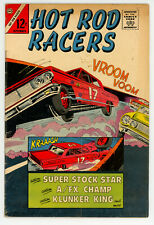 JERRY WEIST ESTATE: HOT ROD RACERS #5 (Charlton 1965) VG condition NO RES