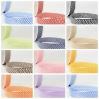 La Stephanoise Bias Binding - 30mm Wide Tiny Gingham In 11 Colours Free Postage