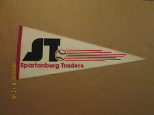 South Atlantic League Spartanburg Traders Vintage Defunct 1982 Baseball Pennant