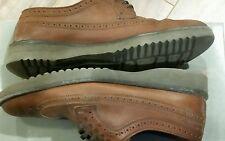 Rockport Men's Size 8 MEN Brown Leather Wing Tip Oxfords $89.95 RETAIL