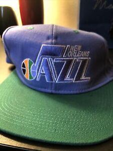 vintage tisa snapback New Orleans Jazz
