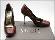 SIREN WOMEN'S FASHION BROWN HIGH HEELS SHOES SIZE 8