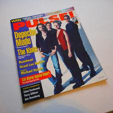 Depeche Mode Covers Pulse Magazine May 1993 Kinks Basehead