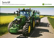John Deere 6R 11 / 2013 catalogue brochure tracteur Traktor