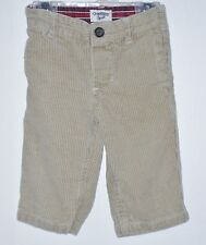 OSHKOSH B'GOSH Boys Size 6 Months Brown Pull-On Corduroy Pants