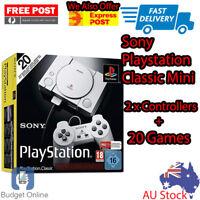 Brand New Sony PlayStation Classic PS1 Mini Gaming Console Tekken 3 Ridge Racer