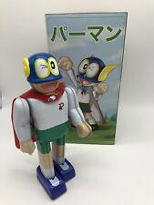Perman Parman Paman Tin Wind Up Robot Japan Character Billiken Bullmark