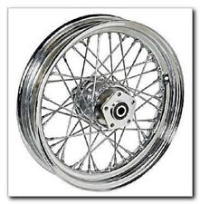 midwest motorcycle supply motorcycle parts for harley davidson  40 spoke 16 front wheel 16 x 3 harley softail flst flstc heritage springer