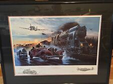 Full Throttle Remarque by Robert Bailey Signed By WW II Pilots-Free Shipping!