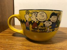 Peanuts Snoopy Charlie Brown Ceramic Coffee Tea Mug Bowl 24 oz Jumbo RARE NEW
