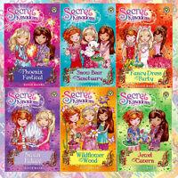 Rosie Banks Collection Secret Kingdom Series 3, 6 Books Pack Set Wildflower Wood