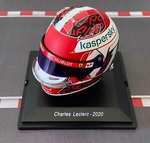 NOW AVAILABLE: CASCO HELMET CHARLES LECLERC 2020 F1 SPARK 1:5 RARE no MINICHAMPS