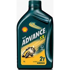 HUILE MOTEUR SHELL ADVANCE SX 2T (1L)
