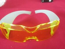 AMERICAN OPTICAL DURA GUARD MOLDED EYESHIELD SAFETY P# D5000 YELLOW