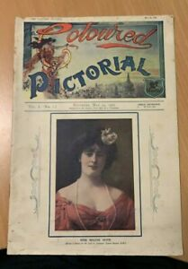 The Coloured Pictorial No 1 1902 UK magazine