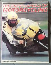 MOTORCYCLE ENCYCLOPEDIA GEORGE BISHOP HONDA BSA HARLEY MOTORCYCLING VINTAGE