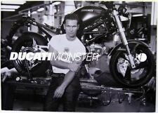 DUCATI Monster 600/750/900cc- Motorcycle Sales Brochure- 2000s -Cod.917.1.018.1A