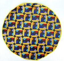 Lord R Colton Masterworks Pocket Square $75 Retail New La Boca Earth Silk