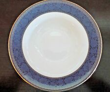 Royal Doulton England Fine Bone China Rim Soup Bowl English Brocade