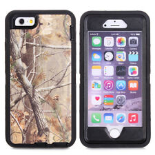 For iPhone 6 / Plus Forest Realtree Camo Heavy Duty Hybrid Shockproof Case Cover