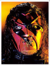 Autographed Kane Photo, Mask WWE WWF Promo Signed