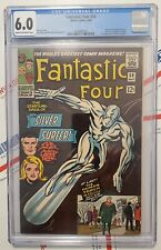 Fantastic Four 50 💥 FIRST Silver Surfer cover 1st app Wyatt Wingfoot  CGC 6.0