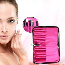 Travel Multifunction Cosmetic Bag Makeup Case Storage for Makeup Brush 12 Holder
