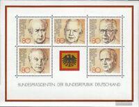 BRD (BR.Deutschland) Block18 (kompl.Ausgabe) gestempelt 1982 Bundespräsidenten