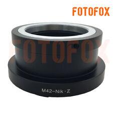 FOTOFOX adapter for M42 mount lens to Nikon Z mount Z6 Z7 camera M42-NIK Z