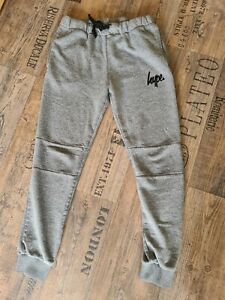 Boys Grey Hype Joggers Age 13 Years