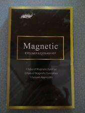 Magnetic Eyeliner And Eyelash Kit 5 Pairs Of Lashes, Applicator And Eyeliner