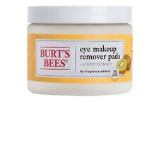 Burt's Bees Eye Make Up Remover Pads - 35ct