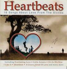 HEARTBEATS  Songs About Love From The Sixties  ( 16 Great Tracks )   Mint