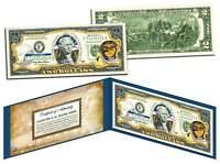 OREGON $2 Statehood OR State Two-Dollar U.S. Bill *Genuine Legal Tender* w/Folio