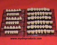 Acrylic/Resin teeth 1x6 Anterior lower (see description)