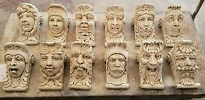 Lot of 12 WALL CORBEL BRACKET SHELF ARCHITECTURAL ACCENT HOME DECOR