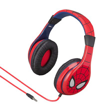 Spiderman Kid Friendly headphones with built in volume limiting feature